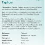 Taphorn F.K.T. 1910-1941