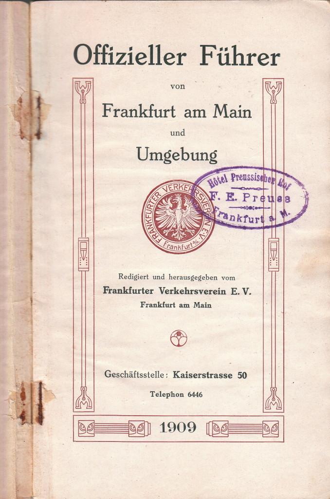 Boekje Frankfurt