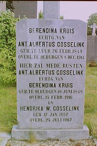 gosselink-kruis