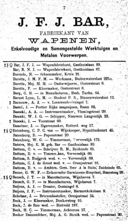 1884adresboekdelftbar