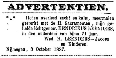 18871005_03 overlijdensadvertentie