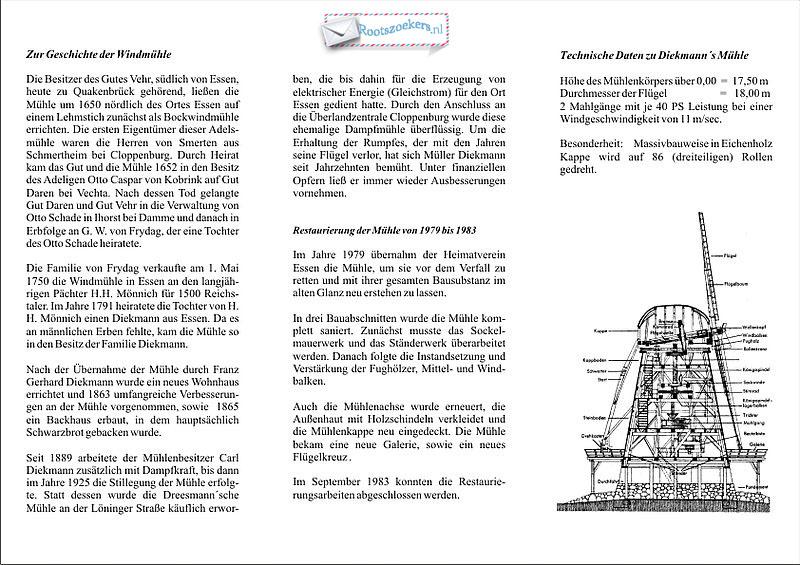 1.Molen Diekmann-tekst