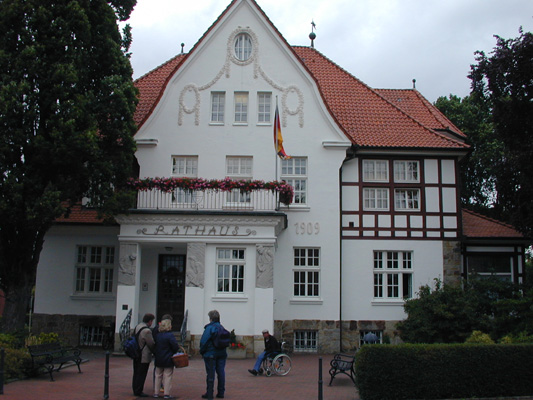 2005 Essen Rathaus, voorheen woonhuis van Taphorn, Houtfabrikant